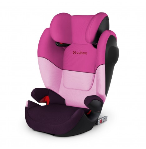 Cybex Solution M-Fix SL Group 2/3 ISOFIX Car Seat - Purple Rain