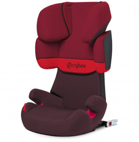 Cybex Solution X-Fix Group 2/3 ISOFIX Car Seat - Rumba Red