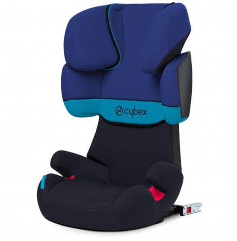 Cybex Solution X-Fix Group 2/3 ISOFIX Car Seat - Blue Moon