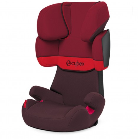 Cybex Solution X Group 2/3 Car Seat - Rumba Red
