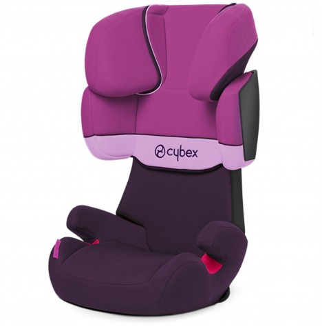 Cybex Solution X Group 2/3 Car Seat - Purple Rain