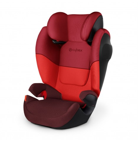 Cybex Solution M SL Group 2/3 Car Seat - Rumba Red