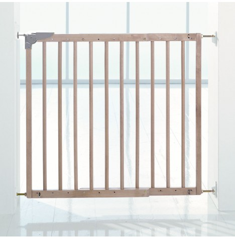 Babydan Multidan Safety Gate - Wood (79 - 113.5cm)