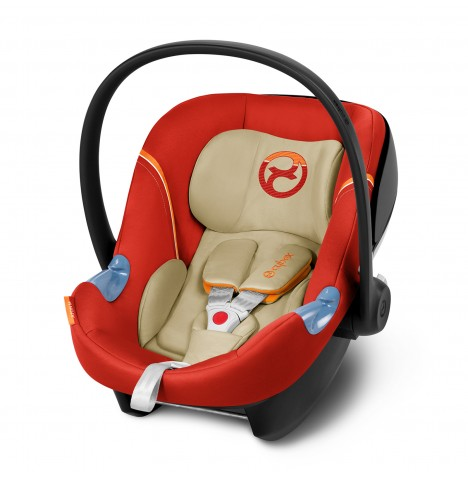 Cybex Aton M Group 0+ Car Seat - Autumn Gold (2017)