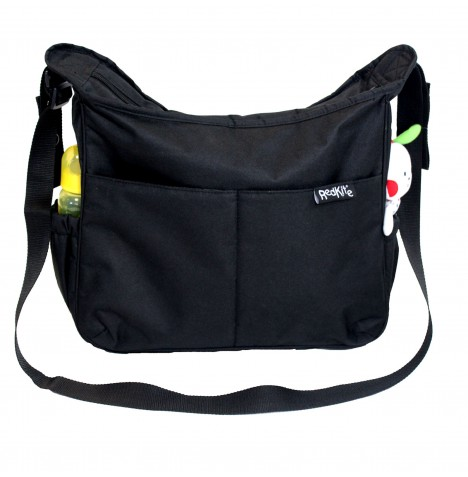 Red Kite Bristol Baby Messenger Changing Bag - Black