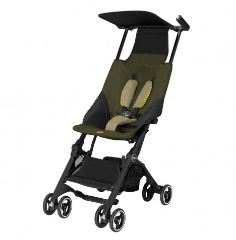 gb Pockit Lightweight Stroller - Lizard Khaki