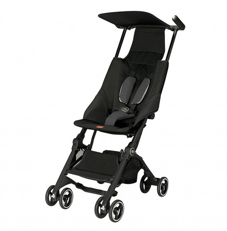 gb Pockit Lightweight Stroller - Monument Black