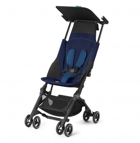 gb Pockit Lightweight Stroller - Seaport Blue