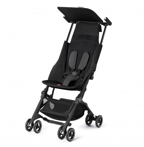 gb Pockit+ Stroller - Monument Black
