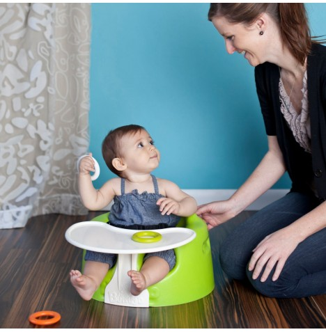 Bumbo Combo 2-in-1 (Floor Seat & Play Tray) - Lime...