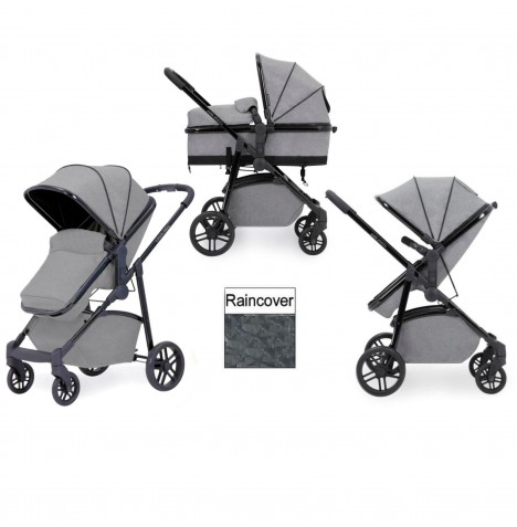 Ickle Bubba Moon 2 in 1 Pushchair - Grey