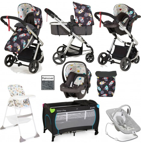 Joie / Cosatto Giggle Mix Everything You Need Travel System Bundle - Space Racer