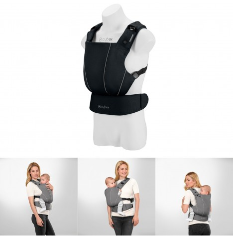 Cybex Maira Click Baby Carrier - Lavastone Black