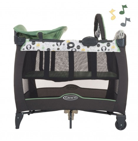 Graco Contour Electra Travel Cot Bassinette - Balancing Act