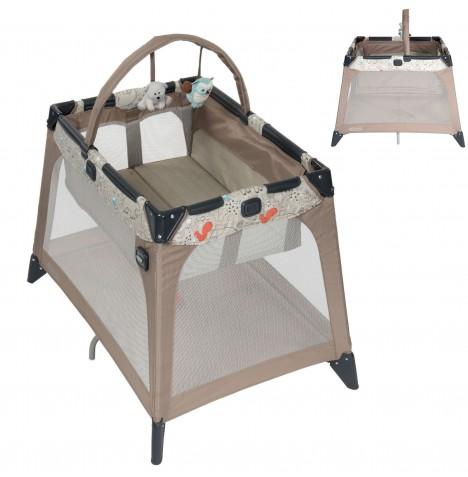 Graco Nimble Nook Travel Cot Bassinette​ - Woodland Walk..