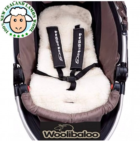 Woolibaloo 100% New Zealand Lambswool Pushchair Liner...