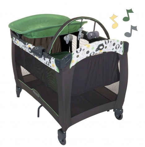 Graco Contour Electra Travel Cot Bassinette​ - Balancing Act..