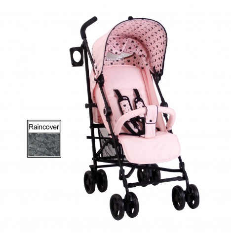 My Babiie MB02 Stroller *Abbey Clancy Catwalk Collection* - Black Cats