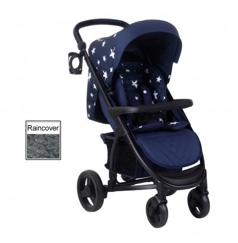 My Babiie MB200 Pushchair *Abbey Clancy Catwalk Collection* - Navy Stars
