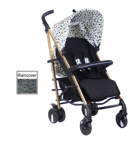 My Babiie MB51 Stroller *Abbey Clancy Catwalk Collection* - Gold Dalmatian