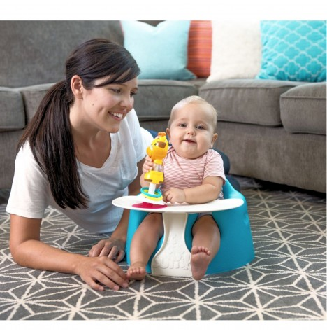 Bumbo Combo 2-in-1 (Floor Seat & Play Tray) - Blue..