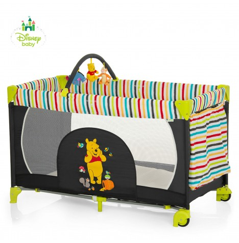 Hauck Disney Dream n Play Go Travel Cot - Pooh Tidy Time..