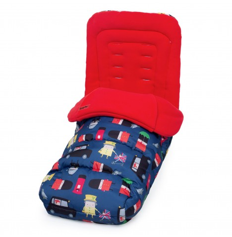 Cosatto Pushchair Footmuff - Britpop