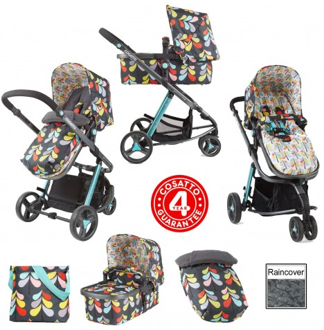Cosatto Giggle 2 Combi 3 in 1 Pushchair - Nordik
