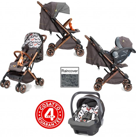 Cosatto Woosh XL Travel System - Mister Fox