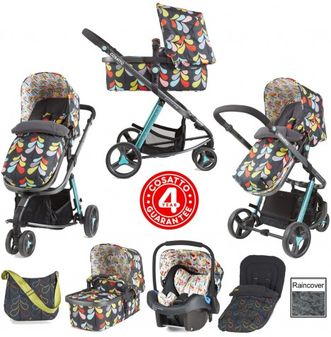 Cosatto Giggle 2 Combi 3 in 1 Travel System - Nordik