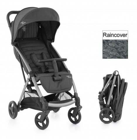 BabyStyle Oyster Atom Pushchair  - Tungsten Grey...
