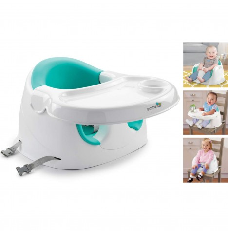 Summer Infant  3-in-1 Support Me Child Booster Seat - White