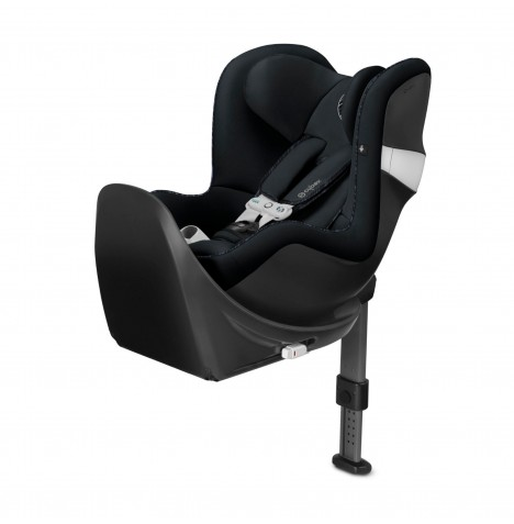 Cybex Sirona M2 i-Size Car Seat (inc Base M) With Sensorsafe - Urban Black