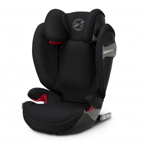 Cybex Solution S-Fix Group 2/3 ISOFIX Car Seat - Urban Black