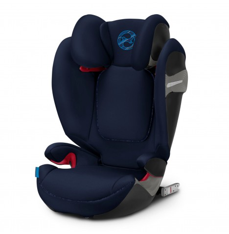 Cybex Solution S-Fix Group 2/3 ISOFIX Car Seat - Indigo Blue
