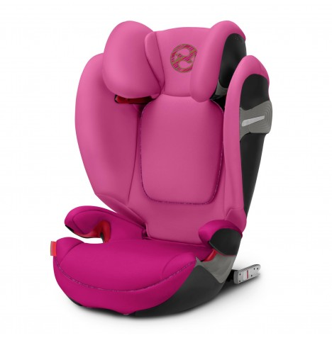 Cybex Solution S-Fix Group 2/3 ISOFIX Car Seat - Fancy Pink