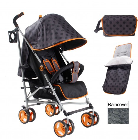 My Babiie MB02 Stroller Bundle - Polka Dot