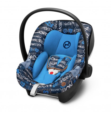 Cybex Aton M i-Size Car Seat (Fashion Edition) - Trust (Blue)