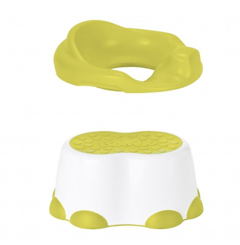 Bumbo 2 in 1 Toilet Trainer & Step Stool - Yellow