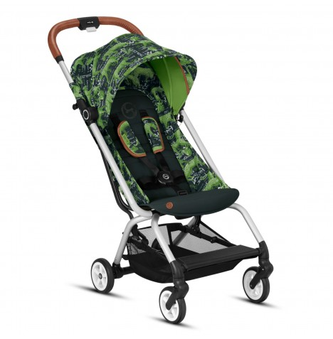 Cybex Eezy S Gold Fashion Edition Pushchair Stroller - Respect Green