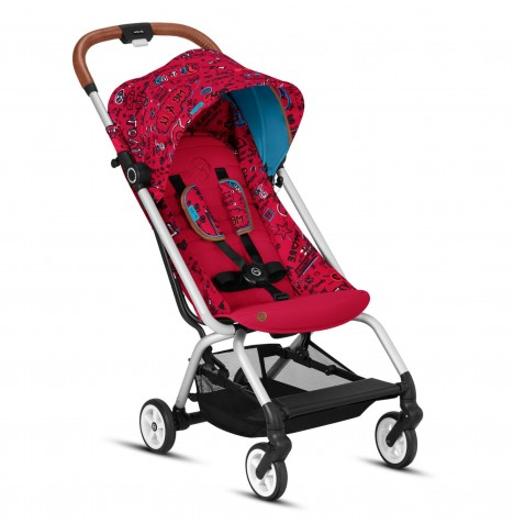 Cybex Eezy S Gold Fashion Edition Pushchair Stroller - Love Red