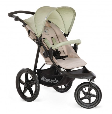 Hauck Runner 3 Wheel Pushchair Stroller - Oil