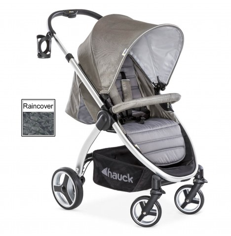 Hauck Lift Up 4 Pushchair / Stroller - Charcoal