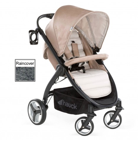Hauck Lift Up 4 Pushchair / Stroller - Fungi