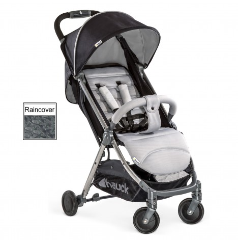 Hauck Swift Plus Pushchair / Stroller - Silver / Charcoal