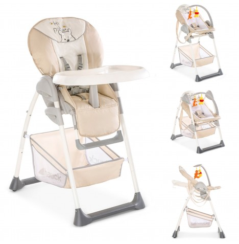 Hauck Disney Sit n Relax 2 in 1 Highchair - Pooh Cuddles