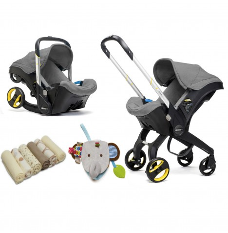 Doona Infant Car Seat / Stroller & Accessories - Storm Grey