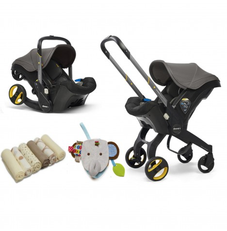Doona Infant Car Seat / Stroller & Accessories - Greyhound Grey