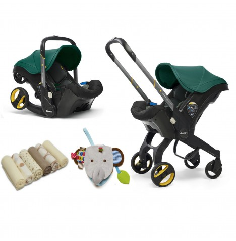 Doona Infant Car Seat / Stroller & Accessories - Racing Green