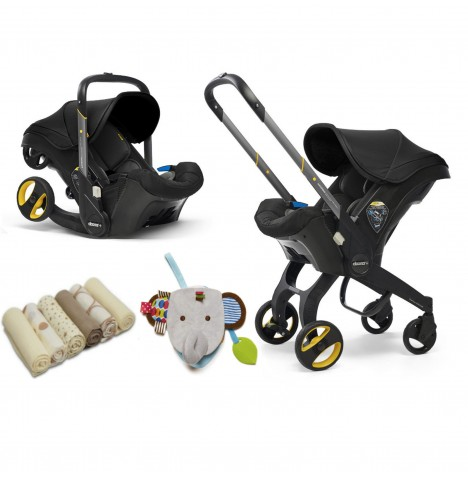 Doona Infant Car Seat / Stroller & Accessories - Nitro Black